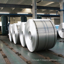 Rouleau de bobine inférieur en aluminium en métal