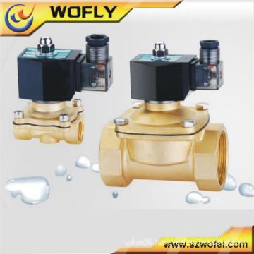 China manufacturer produce 220v/24v/12v 1/2 inch lpg gas solenoid control valve