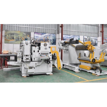 Decoiler compacto e Straighteners Alimentadores Press Feed Systems