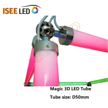 DMX 30mm Diameter 3D Effekt LED Tube Light