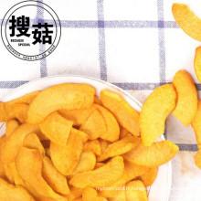 Approvisionnement des frites séchées de FD de fruits, frites séchées de pêche de FD pour des ventes chaudes