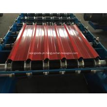 Máquina de fabricação de folha de telhado de painel de telhado de metal IBRR