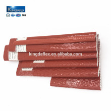 Silicone Coated Fiberglass Pyrojacket Fire Sleeve