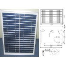 Module solaire polycristallin de panneau solaire de 12V 18V 18W 20W 22W avec TUV approuvé