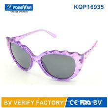 Kqp16935 neues Design schöne Kinder Sonnenbrille Mädchen elegante