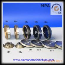 Roda de moedura de copo de diamante de polegada para concreto
