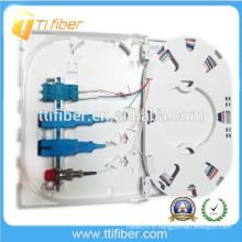 Boîte à bornes à fibre optique SC / LC / FC FTTH, 4Port fibre optique