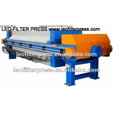 Imprensa de filtro de imprensa do filtro de Leo que produz a imprensa de filtro automática da membrana