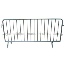Exportierte Hot Dipped Galvanisierte Metall Stahl Crowd Control Barrier