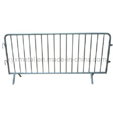 Barrière de contrôle de la foule en acier galvanisé à chaud chaud exporté