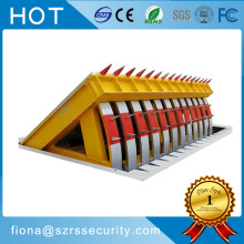 Portable Hydraulic Road Blocker For Vehicle Access Control