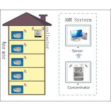 Sistema AMR para medidor de agua de lectura remota