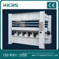 Automatische MDF-Plattenherstellungsmaschine Hydraulische Heißpresse
