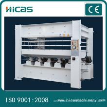 Prensa caliente de la máquina de la prensa de la prensa caliente para la tarjeta de madera