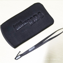 Carring Fall schützende Reise Handtasche für Nintendo New 3DS XL LL Tasche Tuch Schutz Tasche für 3DS XL LL schwarz