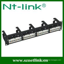 Shenzhen NT-Link haut de gamme 48 ports cat6 patch panel