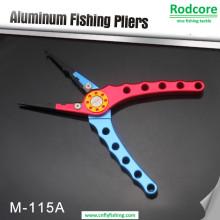 Pince à pêche en aluminium avec coupe-carbure en tungstène