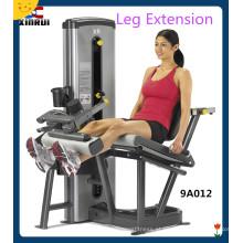 Máquina de extensão de pernas sentadas