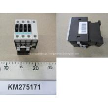 KONE Elevador DC Contator 230VDC KM275171