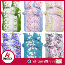 Wholesale polyester bettbezug, billig zerstreuen print bettbezug für schlafzimmer
