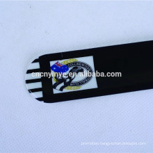 China Factory OEM Custom Promotional kids PVC black slap bracelet