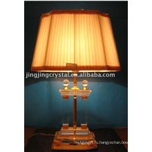 Классический Ясный шарик Кристалл настольная лампа с абажуром в Китае