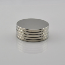 Factory making for N35 Round Magnet N35 D50.8*4mm Neodymium Ndfeb round magnet supply to France Manufacturers