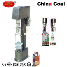 Máquina que capsula de la botella de vino manual de aluminio
