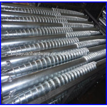 Hot DIP Galvanized Pole Anchor, Ground Screw, Ground Screw Anchor for City Fence and Garden