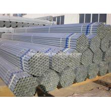 Erw tubo de acero galvanizado soldado para estructura de acero
