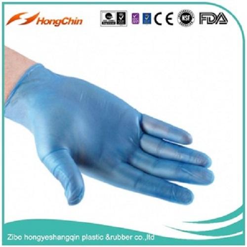 Blue Vinyl Glove