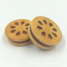Creative Biscuit Design Herb Tobacco Metall Grinder zum Rauchen (ES-GD-025)