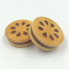 Creative Biscuit Design Herb Tobacco Metal Grinder for Smoking (ES-GD-025)