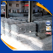 ISO Quality gabion box prices Stone Cages welded gabion box