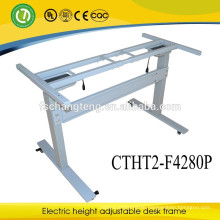 CE electric adjusting office table height adjustable sit stand desk frame supplier