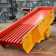 Vibrating Feeder for Mineral Ore
