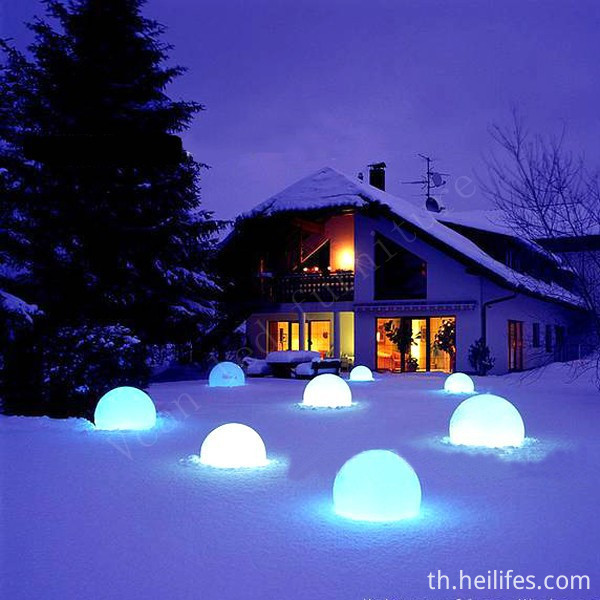 Lake LED ball light
