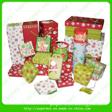 Decorative Christmas Boxes/Christmas Paper Packaging Box