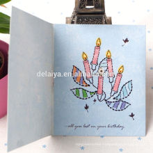 2017 Popular Handmade Birthday Greeting Card Supplier