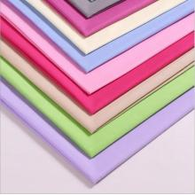 Dye voile combed plain garment fabric