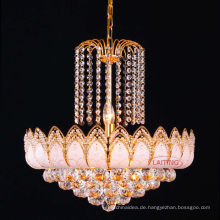 Heißer Verkauf Antik Gold Luxus Kristall Kronleuchter für Wohnzimmer LT-70103