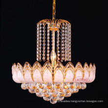 Hot Sale Antique Gold Luxury Crystal Chandelier for Living Room LT-70103