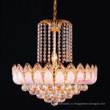 Горячая Распродажа античное золото роскошь Кристалл Люстра для гостиная ЛТ-70103