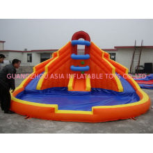 Inflatable Water Slide Inflatable Amusement Park With Pool For Water Games