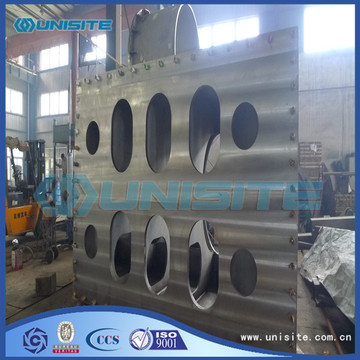 Steel painted bow coupling