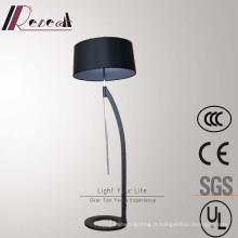 Moderne décoratif Matt noir réglable lampadaire