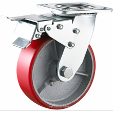 Total Bremse Heavy Duty PU Caster