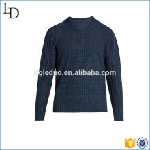 L'Europe v cou pull tricot style doux matériel acrylique pour les hommes
