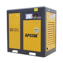APCOM 2020 hot sale 11KW 15HP rotary yellow color screw air compressor