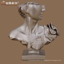decoración de la casa moderna alta calidad diseño elegante figura de la cara humana